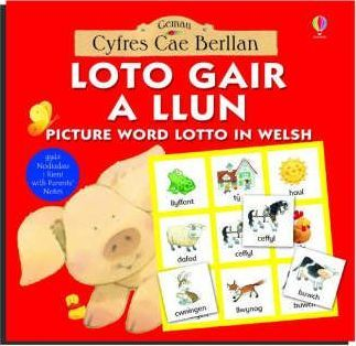 Picture Word Lotto in Welsh