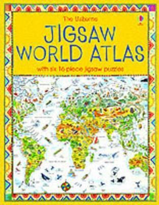 The Usborne Jigsaw World Atlas