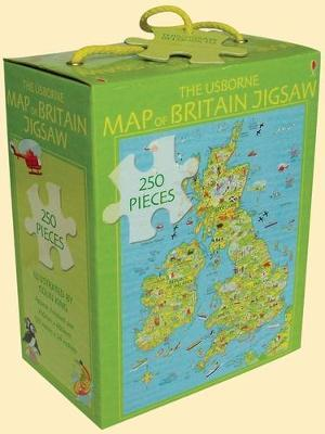 The Usborne Map of Britain Jigsaw