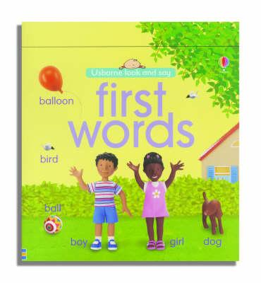 Usborne Look and Say First Words