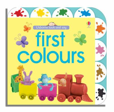 Usborne Look and Say First Colours