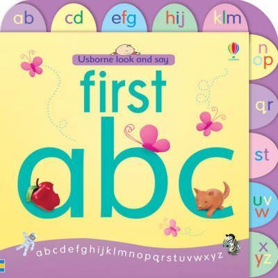 Usborne Look and Say First ABC