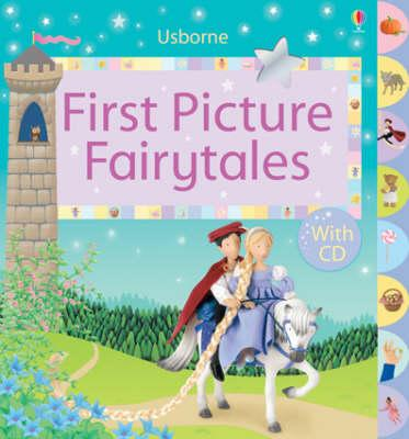 Luxury First Picture Fairy Tales With CD