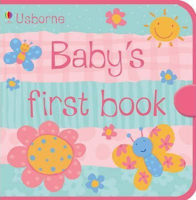Usborne Baby's First Book Pink Cloth Book