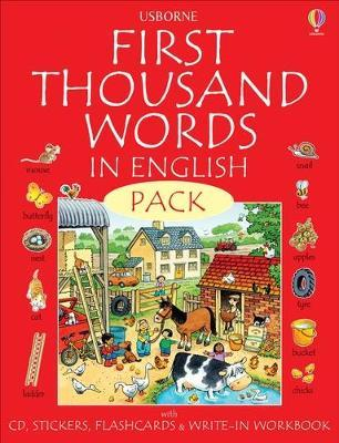 First 1000 Words Pack - English