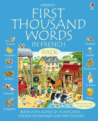 First 1000 Words Pack - French