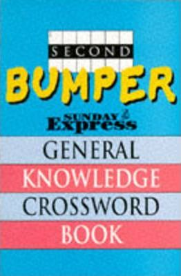 """Second Bumper """"Sunday Express"""" General Knowledge Crossword Book"""