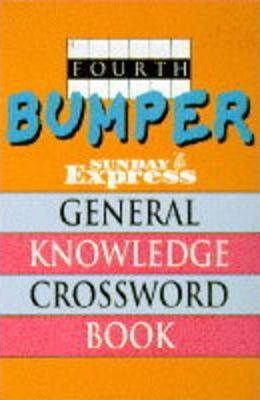 """Fourth Bumper """"Sunday Express"""" General Knowledge Crossword Book"""