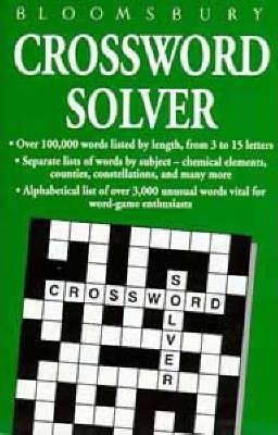 Bloomsbury Crossword Solver