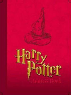 Harry Potter Classic Address Book: Red