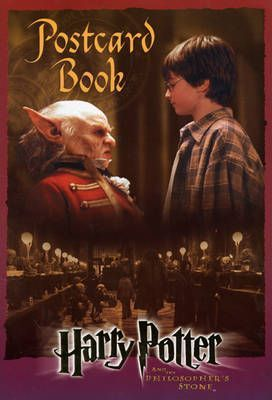 Postcard Book: Harry Potter and the Philosopher's Stone