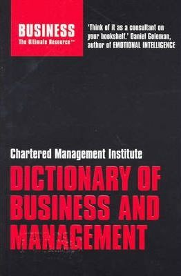 CMI Dictionary of Business and Management