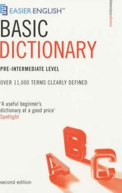 Easier English Basic Dictionary: Pre-intermediate Level