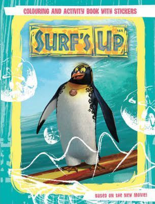 Surf's Up: Colouring and Activity Book with Stickers