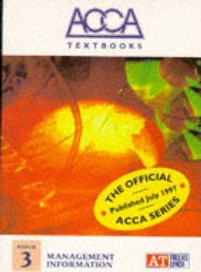 ACCA Textbook: Management Information Paper 3