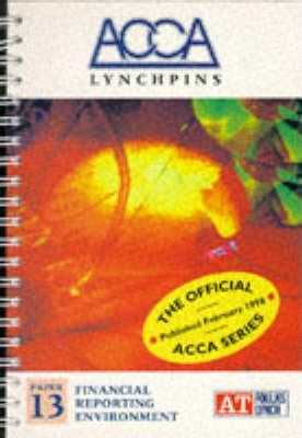 ACCA Lynchpins: Financial Reporting Environment Paper 13