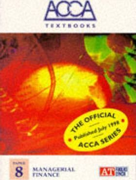 ACCA Textbook: Managerial Finance Paper 8