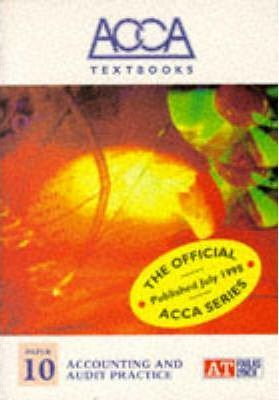 ACCA Textbook: Accounting and Audit Practice Paper 10