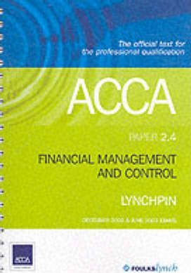 ACCA Official Lynchpin: Paper 2.4
