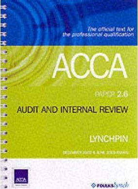 ACCA Official Lynchpin: Paper 2.6