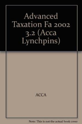 ACCA Official Lynchpin: Paper 3.2