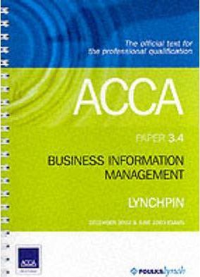 ACCA Official Lynchpin: Paper 3.4
