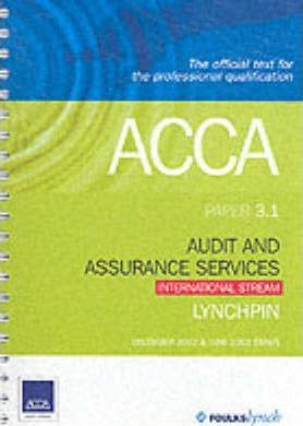 ACCA Official Lynchpin: Paper 3.1