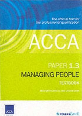 ACCA Official Textbook: Paper 1.3