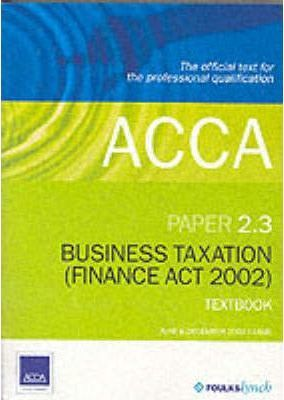 ACCA Official Textbook: Paper 2.3