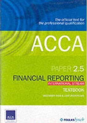 ACCA Official Textbook: Paper 2.5