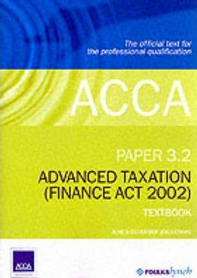 ACCA Official Textbook: Paper 3.2