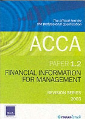 Acca Financial Information for Management 1.2