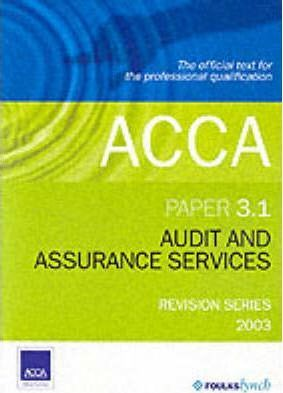 Audit and Assurance Services 3.1