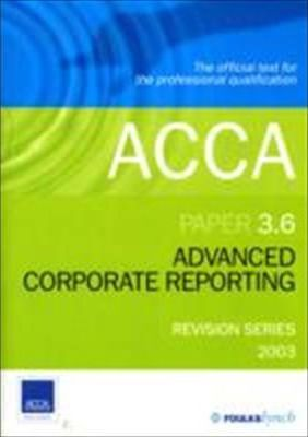 Acca Advanced Corporate Reporting 3.6