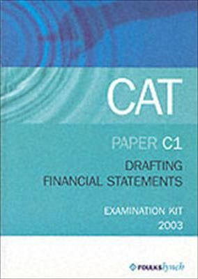 Cat: Drafting Financial Statements C1 (Industry and Commerce)