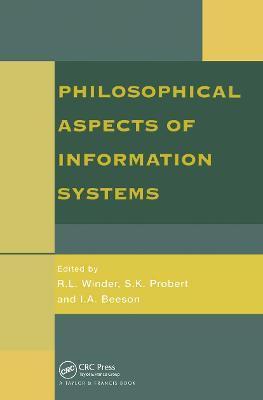 Philosophical Issues in Information Systems