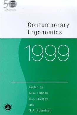 Contemporary Ergonomics 1999