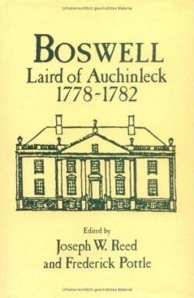 Boswell, Laird of Auchinleck, 1778-82