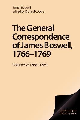 General Correspondence of James Boswell, 1766--1769