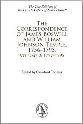 Correspondence of James Boswell 1756-1795
