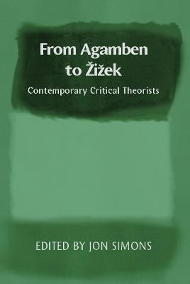 From Agamben to Zizek