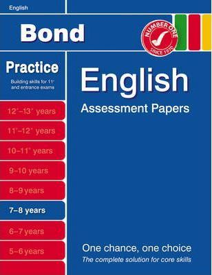Bond First Papers in English 7-8 Years