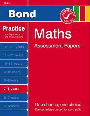 Bond First Papers in Maths 7-8 Years
