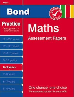 Bond Second Papers in Maths 8-9 Years