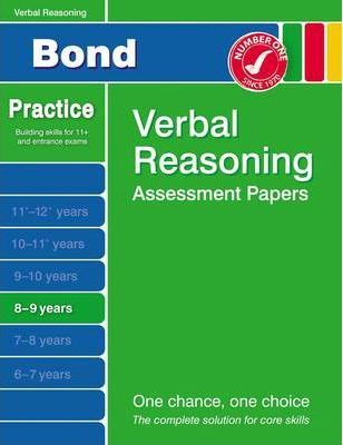 Bond Second Papers in Verbal Reasoning 8-9 Years