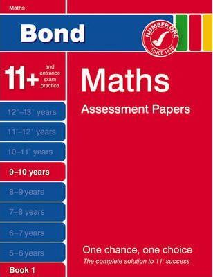 Bond Third Papers in Maths 9-10 Years