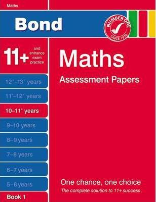 Bond Fourth Papers in Maths 10-11+ Years