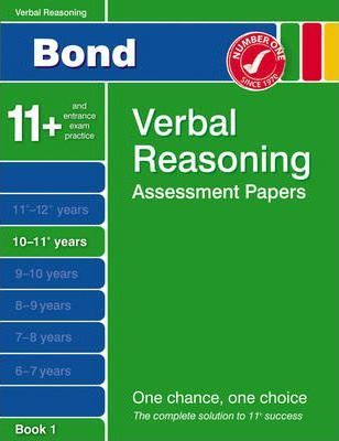 Bond Fourth Papers in Verbal Reasoning 10-11+ Years
