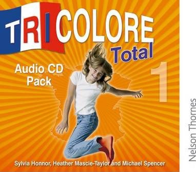 Tricolore Total 1 Audio CD pack