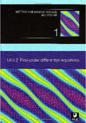 First-order Differential Equations: Unit 2